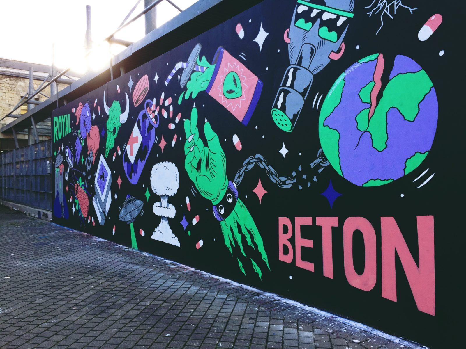 le m u r le street art en exposition urbaine bordeaux monpetitbordeaux. Black Bedroom Furniture Sets. Home Design Ideas